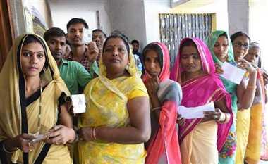 संशोधित-गोरखपुर में 47.45 प्रतिशत वोट