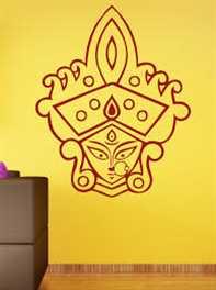 थर्मोकॉल से बनेगी 25 किलोग्राम की मां दुर्गा की प्रतिमा