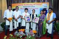 स्वर्ण पदक जिताने वाली विनेश फोगाट का लखनऊ में हुआ भव्य स्वागत