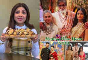 तस्वीरें: बाॅलीवुड सितारों ने किया 2019 का दमदार स्वागत, फैंस को इन अनोखे अंदाज में दी नए साल की बधाई
