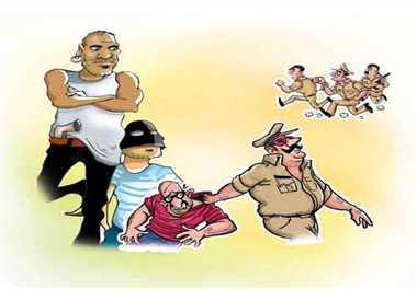 इनामी बदमाशों के लिए काल बनेगी पुलिस
