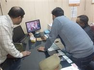 सिविल लाइन्स में एटीएम मशीन काटने का प्रयास