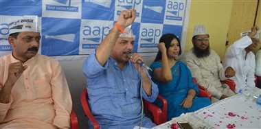 सपा सरकार की तरह काम कर रही योगी सरकार: संजय सिंह