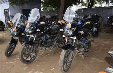 अब गलियों में दौड़ेगी पुलिस की बाइक