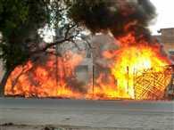 कृष्णा नगर सबस्टेशन में आग, मुख्यालय में टकराव