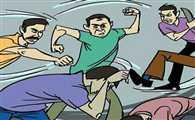 मनबढ़ों ने की मारपीट, विरोध पर की फायरिंग