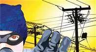 चार करोड़ की बिजली चोरी पकड़ी गई