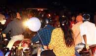 दुर्गा पूजा में सड़क पर उतर आई लौहनगरी