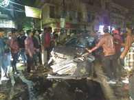 बरेली में रईसजादों ने दौड़ाई कार, सिर्फ वाहन नंबर पर एफआईआर