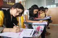 सैकड़ों स्टूडेंट्स ने दी आइआइटी की ऑनलाइन परीक्षा