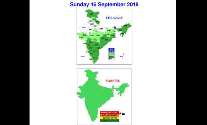 संडे को उमस से बेहाल रहेंगे यूपी के शहर,जानें उत्तर भारत समेत पूरे देश में बारिश का हाल