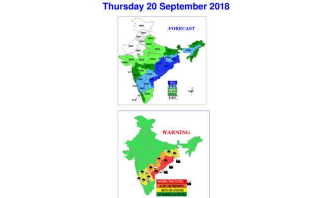 फिर पलट सकती है बारिश,जानें यूपी-दिल्ली समेत इन राज्यों में आज मौसम का मिजाज