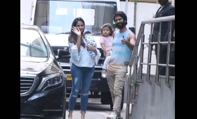 तस्वीरें : शाहिद-मीरा ने अपने बेबी ब्वॉय का इस तरह कर रहे गृह प्रवेश,रखा ये क्यूट नेम
