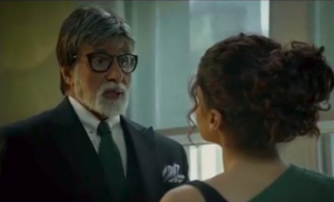 'बदला' ट्रेलर : तापसी से बदला लेने वाले का पता लगा रहे अमिताभ बच्चन,अब तक मिले इतने व्यूज