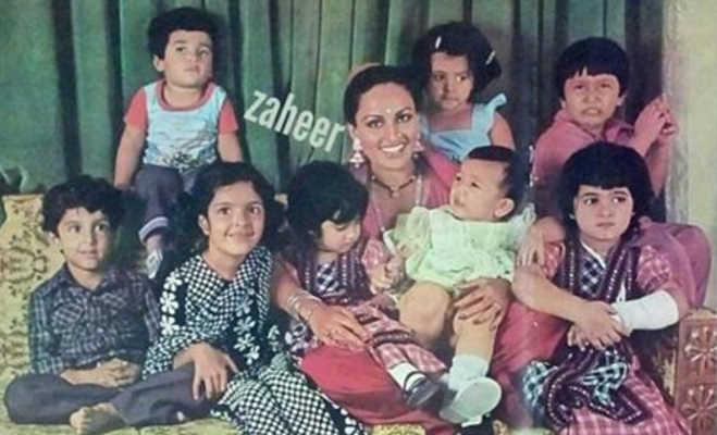 ये है बॉलीवुड के बडे़ फिल्मी सितारों के बचपन की तस्वीर,आपने कितनों को पहचाना