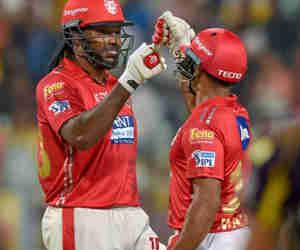 IPL 2018: 18वें मुकाबले में बारिश के बाद किंग्स इलेवन पंजाब ने कोलकाता नाइट राइडर्स को 9 विकेट से हराय