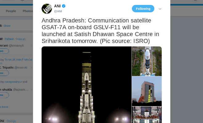 इसरो आज लाॅन्च करेगा जीसैट-7ए,देश में बेहतर होंगी संचार सेवाएं