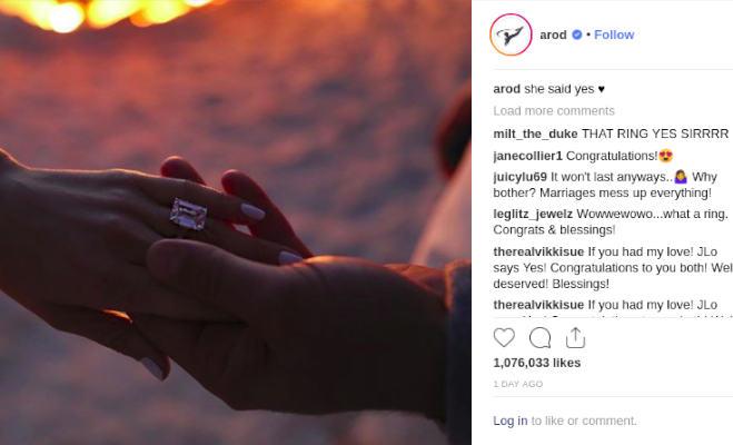 49 की उम्र में जेनिफर ने ब्वाॅयफ्रेंड एलेक्स संग की सगाई,अंगूठी पहन शेयर की इमोशनल पोस्ट