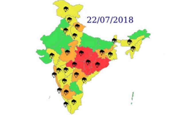 संडे को इन इलाकों में होगी भारी बारिश,घर से निकलने से पहले जान लें मौसम का हाल