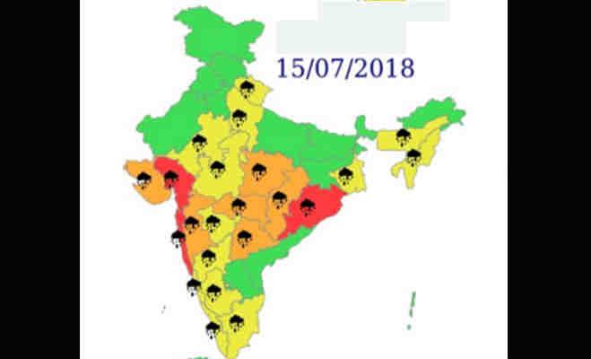 भारी बारिश से सराबोर उत्तर भारत,जानें रविवार को कैसा रहेगा मौसम का हाल