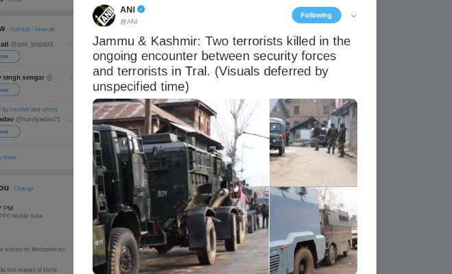 जम्मू-कश्मीर : पुलवामा में मुठभेड़ जारी,सुरक्षा बलों ने मार गिराए 2 आतंकी
