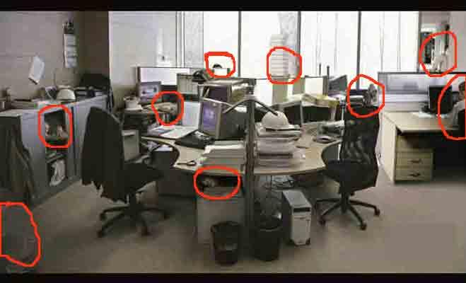 अगर मिनटों में सुलझाते हैं पजल,तो जरा बताओ इस ऑफिस वाली तस्वीर में कितने लोग मौजूद हैं