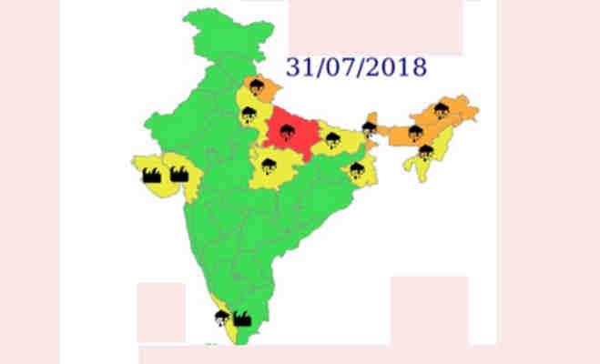 24 घंटे भारी बारिश की आशंका,उत्तर भारत में मैदान से लेकर पहाड़ तक रहेंगे सराबोर