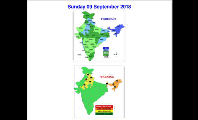 संडे को दिल्ली में झमाझम हो सकती बारिश,यूपी में कहीं धूप तो कहीं होगी बूदांबांदी