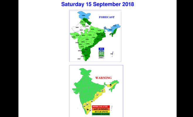 तेज हवाआें संग आज यहां भारी बारिश के आसार,उत्तर भारत के इन राज्यों में नहीं है राहत