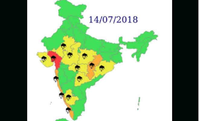 देश के इन हिस्सों में आज भारी बारिश की संभावना,जानें दो दिन तक कहां,कैसा रहेगा मौसम