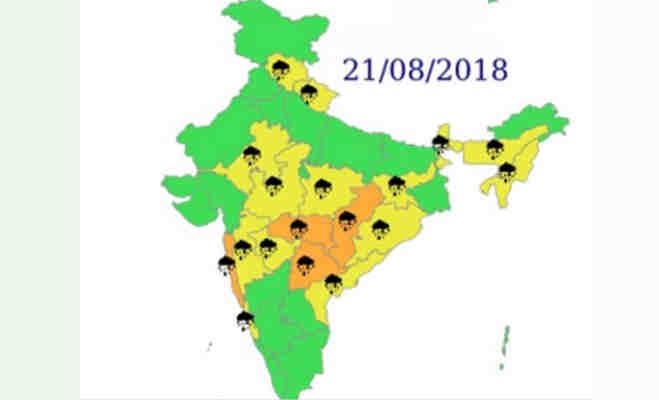 अलर्ट! उत्तर आैर मध्य भारत में आज भारी बारिश के आसार