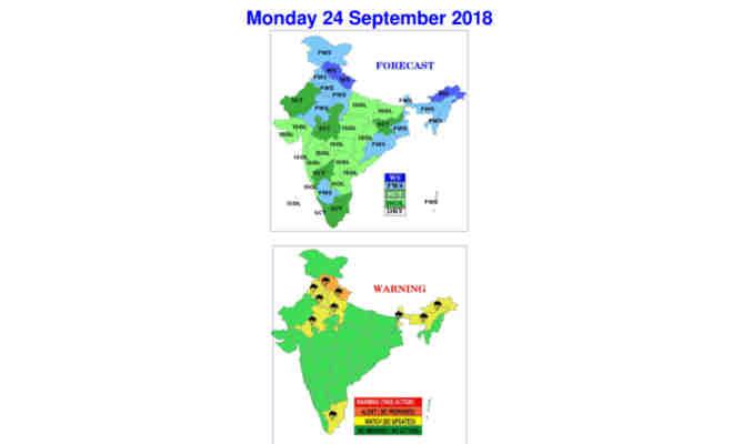 उत्तर भारत के ये इलाके रहेंगे बारिश से सराबोर,जानें यूपी समेत इन राज्यों में आज के मौसम का मिजाज