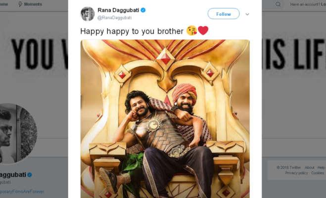 राणा दग्गुबाती ने प्रभाष के बर्थडे पर रिलीज किया 'साहो' का ये वीडियो,इस खास तरीके से दी बधाई भी