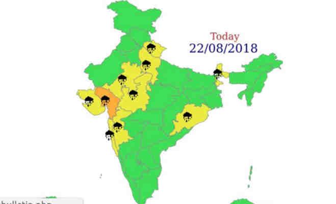 मौसम का मिजाज देखकर ही करें प्लान,यूपी समेत इन 13 राज्यों में आज झमाझम बारिश!