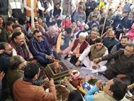 सीएए के समर्थन में होने वाली रैली को किया भूमि पूजन