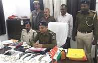 बिहार में 91 गोलियों के साथ दबोचे गए दो तस्कर