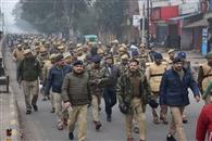 गणतंत्र दिवस को लेकर शहर में हाई अलर्ट जारी