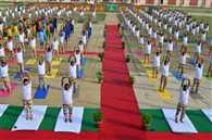 अन्तर्राष्ट्रीय योगा डे पर योग मय हुए बरेलियंस