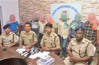 जमशेदपुर में पुलिस ने आठ डकैतों को धर दबोचा