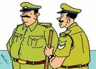 पुलिस पर पथराव, दारोगा घायल