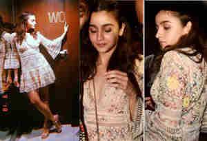 तस्वीरें : प्रियंका के बाद आलिया पर भी लगा कॉपी कैट का ठप्पा, ड्रेस के साथ-साथ इस एक्ट्रेस की स्टाइल भी की कॉपी