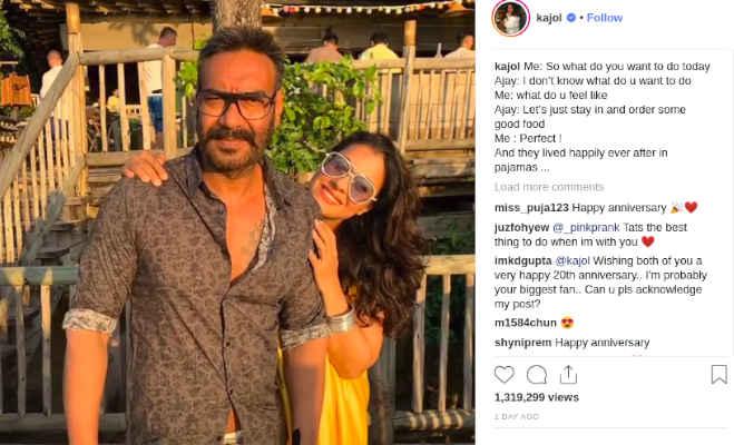 शादी के 20 साल बाद काजोल ने खोला अजय संग अपने रिश्ते का ये राज,हैरान हो जाएंगे आप