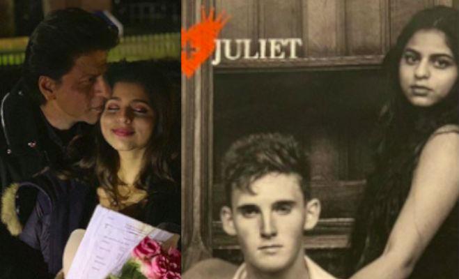 तस्वीरें: सुहाना की एक्टिंग देख शाहरुख खान हुए इमोशनल,चूमा बेटी का माथा और दी बधाई