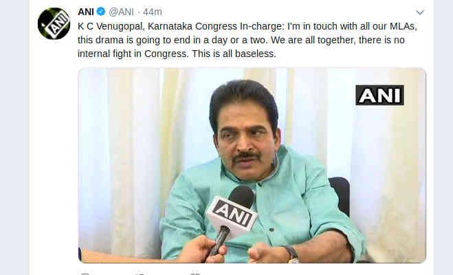 कर्नाटक में दो विधायकों के समर्थन वापस लेने से गरमार्इ राजनीति,सीएम कुमारस्वामी बोले डोंट वरी