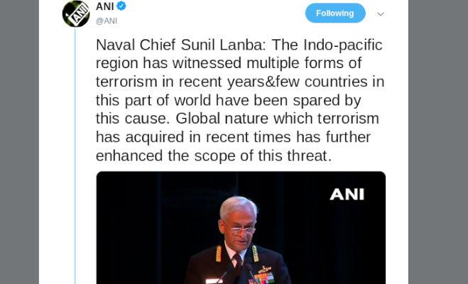 नेवी चीफ ने किया अलर्ट,समुद्र के रास्ते आतंकी भारत में कर सकते हैं हमला