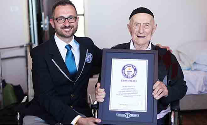 नहीं रहे दुनिया के सबसे बुजुर्ग 113 साल के क्रिस्टल,सहे थे नाजी हिटलर के जुल्म-सितम