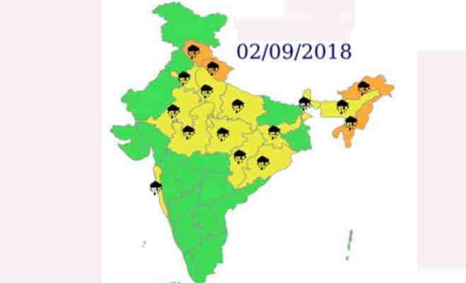 शनिवार के बाद रविवार को भी दिल्ली में जमकर बरसेंगे बादल,देश के बाकी हिस्सों में रहेगा यह हाल
