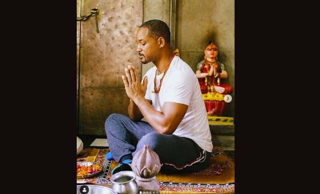 तस्वीरें: हाॅलीवुड स्टार विल स्मिथ ने हरिद्वार पहुंच की गंगा आरती,जानें इंडिया के बारे में क्या कहा