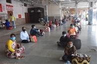 श्रमिक स्पेशल ट्रेन से भेजे गए 210 श्रमिक