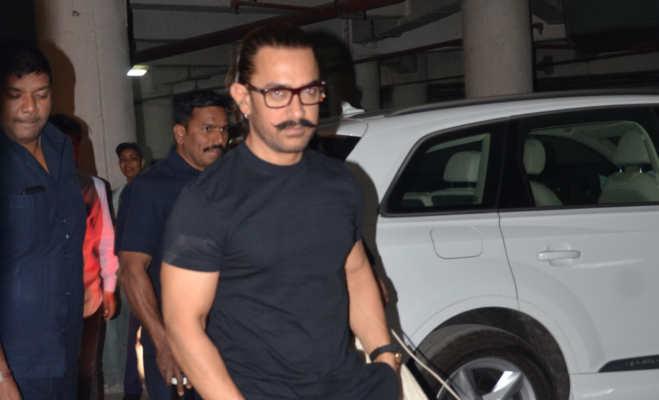 जोधपुर में फातिमा संग 'रेड' देखने पहुंचे आमिर खान,सामने आईं तस्वीरें